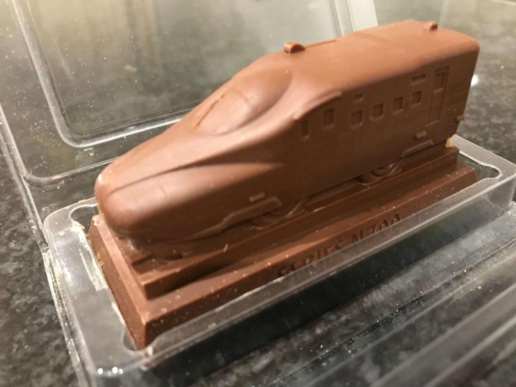 新幹線チョコ